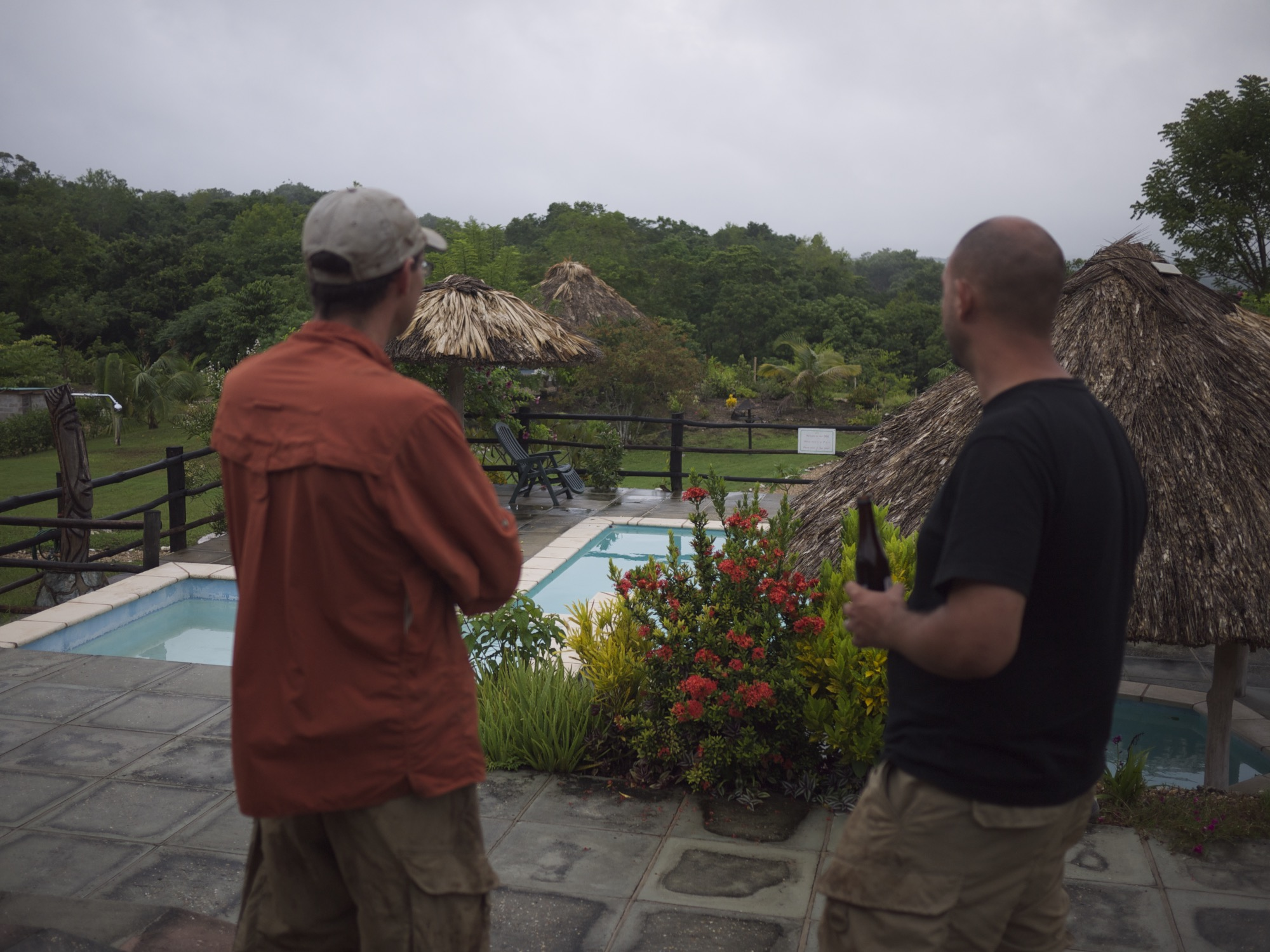 James and Graham contemplate the next trip