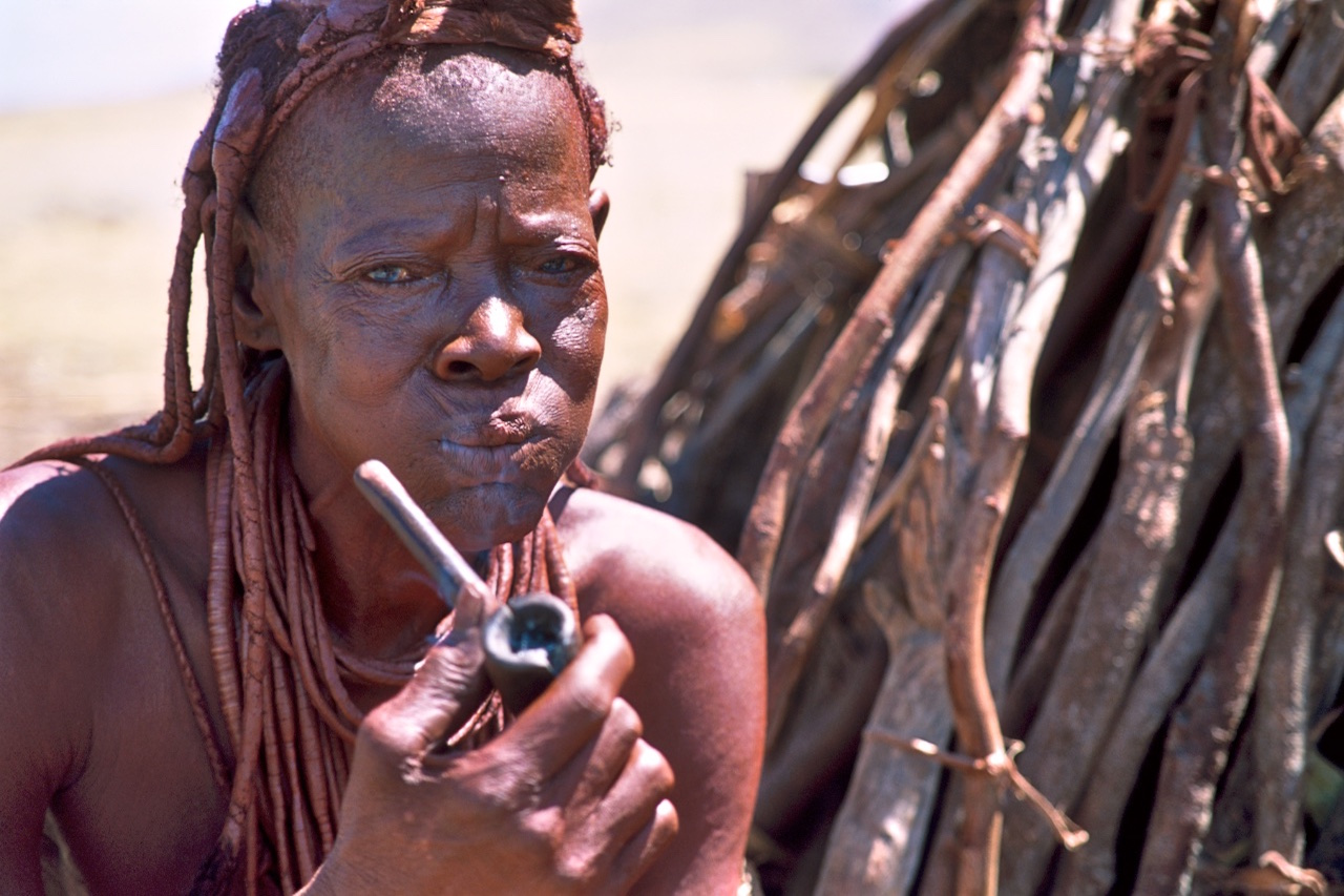 Old Himba Lady
