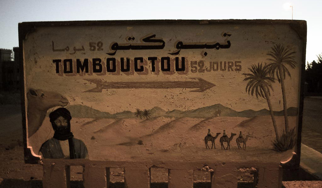 Tombouctou 52 jours sign