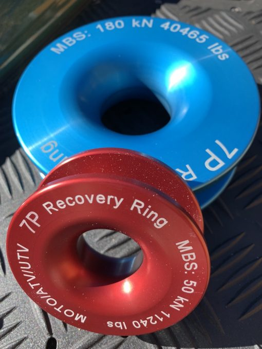 Red and Blue Recovery Rings