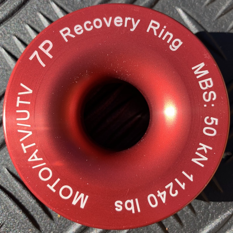 Red Recovery Ring