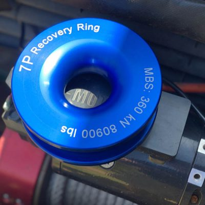 Recovery Ring - 360kN on Red Winch